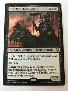 1x MTG - Josu Vess, Lich Knight - Dominaria - NM