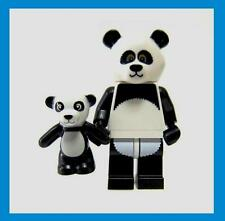 Lego Movie Sealed Panda Suit Guy Mascot + Baby Teddy Bear 71004 Minifig Costume