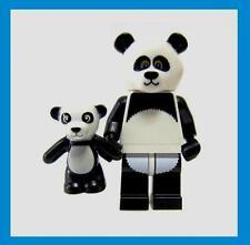 Lego Movie Sealed Panda Suit Guy Mascot + Baby Teddy Bear 71004 Minifig Costume