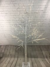 Indoor/Outdoor 5' Birch Tree with Lights and Remote Valerie Parr Hill Qvc Home