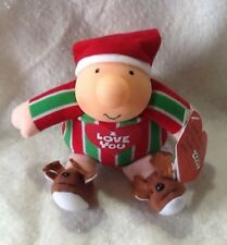 Ziggy Christmas Plush 1991 I Love You NWT Tom Wilson American Greetings