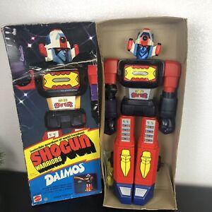 "Vintage 1976 Daimos Shogun Warriors 24"" Mattel Original Box Accessories"