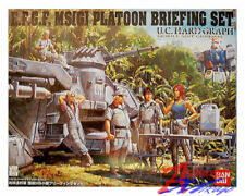 GUNDAM MS 08 TEAM U.C. HG 1/35 PLATOON BRIEFING SET model set