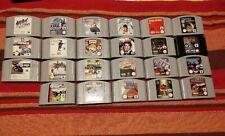 23* Nintendo 64 games for sale