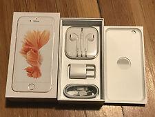OEM Original Apple iPhone 6S accessories + Box Rose Gold (64GB) NO IPHONE