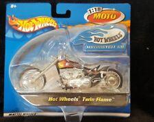 NEW HOT WHEELS 1:18 MOTO TWIN FLAME 2002 (HW-7)