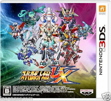 Used Nintendo 3DS Super Robot Wars UX  NINTENDO 3DS JAPANESE  IMPORT