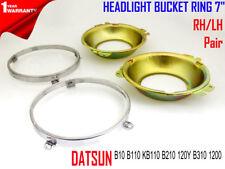 DATSUN B10 B110 KB110 B210 120Y B310 1200 HEADLIGHT BUCKET RING 7 INCH