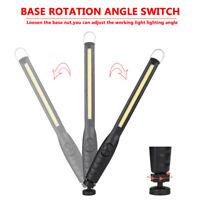 40SL Rechargeable 40LED COB Slim Magnet Hook Long Work Light Handheld Lamp Torch