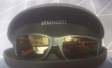 Serengeti Sunglasses Merano 8437 Satin Black Drivers Gold Polarized