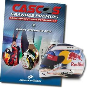 Daniel Ricciardo (2016) helmet collection 1/5 new sealed Discontinued