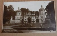 Postcard Burghley House bottle Lodges Stamford Lincolnshire Real Photo RP   XC4