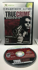 True Crime Streets of LA - PH - Case and Disc - Tested & Works - Xbox