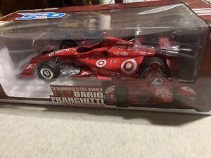 2012 Indy 500 Winner Dario Franchitti Honda Racing HPD Greenlight 1:18 DieCast