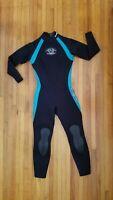 US Divers Aqualung Neoprene Womens Scuba Snorkel Wetsuit Black Size 6
