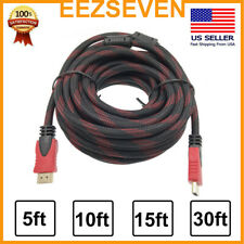 Premium HDMI Cable For Blueray 3D DVD PS3 HDTV XBOX LCD HD TV 1080P