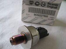 Brand New Genuine Fiat Scudo MultiJet Diesel Fuel Pressure Sensor 9658227880