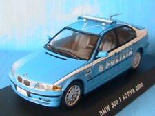 BMW 320 I ACTIVA 2000 POLIZIA DEAGOSTINI 1/43 ITALY NEW SOUS BLISTER ITALIA