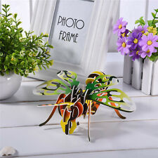 3D DIY Jigsaw Paper Puzzle Insect-Bee Model Kids Children Education Toy Gift
