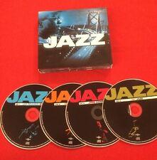 COMPILATION JAZZ 4X CD ÉTAT BON