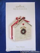 2007 Hallmark Keepsake Christmas Ornament New Home White House Ribbon Key NIB