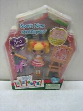 MINI LALALOOPSY SPOT'S NEW MASTERPIECE 3RD EDITION ARTIST W/PET ZEBRA NIP