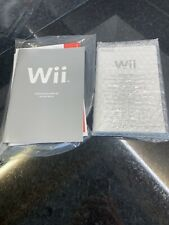 Wii Operating Instructions Only
