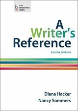 A Writer's Reference Hacker 8th U.S. student edition 9781457666766 1457666766