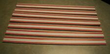 "VINTAGE 1970'S MATTEL LOT OF 7 HOT WHEELS RED STRIPE WHITE PLASTIC 12"" TRACK"