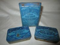 3 Vintage Edgeworth Extra High Grade Tobacco Tin's Nice!!!