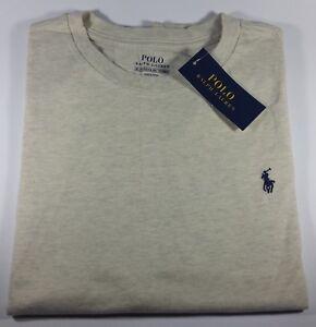 New Original Polo Ralph Lauren Cotton Jersey Crewneck T-Shirt 12-14 Years Boys
