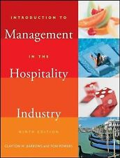 Introduction to Management in the Hospitality Industry by Tom Powers and...