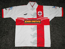ENGLAND RUGBY LEAGUE CENTENARY WORLD CUP 95 Home Shirt Jersey PUMA XL ULTRA RARE