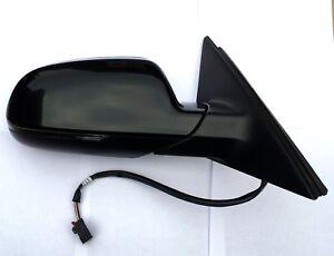 Aussenspiegel Außenspiegel rechts original Audi A4 8K  8K8857410 schwarz LY9B