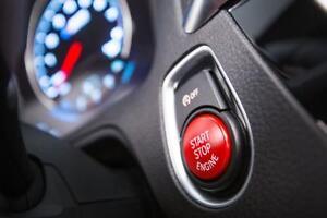 Brand New Genuine BMW Red Stop Start Button 61318076620