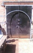 5 off used individual galvanised steel framecan be used for pollytunnel