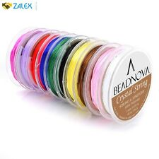 Assorted Colors Elastic Stretch Beading Cord Bracelet Thread Roll Jewelry Making