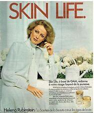 Publicité Advertising 1978 Cosmétique Crème helena Rubinstein