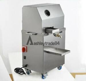 Automatic Electric Sugar Cane Juicer Sugarcane Juice Press Machine 220V