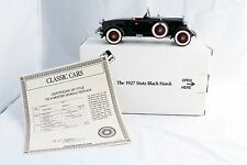 1927 STUTZ BLACK HAWK DANBURY MINT 1/24 SCALE MINT COND NR
