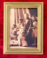 Tsar Nicholas II Romanov, Antique Russian Family Portrait, Tsariana & Children