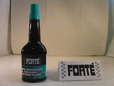 FORTE Bio Degreaser & Cooling System Flush 400ml Removes Oil Sludge Rust Etc
