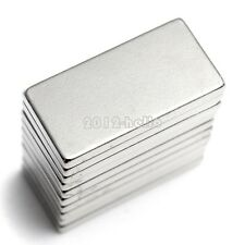 10pcs Super Strong Block Magnets N35  NdFeB Rare Earth Neodymium 20x10x2mm NEW