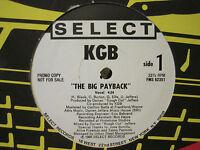 "K.G.B. THE BIG PAYBACK 12"" ORIG '90 RARE PROMO RANDOM RAP OLD SCHOOL HIP HOP NM-"