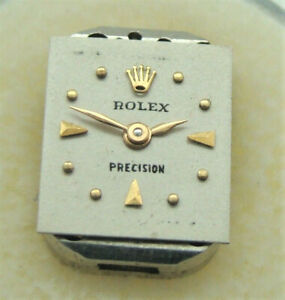 VINTAGE ROLEX WOMEN's 17 JEWEL MANUAL WIND MOVEMENT (NOT RUNNING) for PARTS