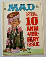 July 1962 MAD MAGAZINE #72 Kelly Freas Cover-10th  Anniversary Issue VG-F