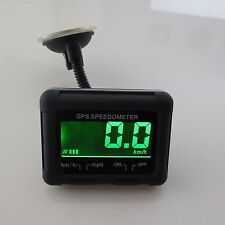 Universal Wireless Digitale GPS Speedo LCD Display MPH Tachimetro Km / H auto