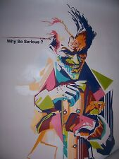 Joker Oil Painting 40x28 inches in Batman Dark Knight Bane Gotham