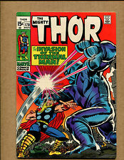 Thor #170 - The Thunder God and the Thermal Man  - 1969 (Grade 8.0) WH