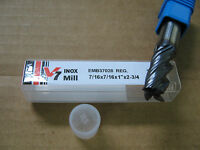 "7//16/""x1/""LOCx2 3//4/"" OAL V7 4 FLT Carbide End Mill YG-1 brand Aitin coat/""NEW/"""